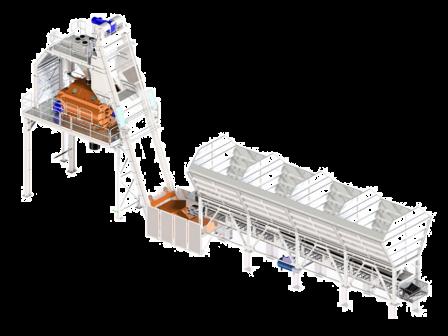 دستگاههای تولید بتن (بچینگ batching plants) - مدیریت ماشین آلات سنگیندستگاههای تولید بتن (بچینگ batching plants)